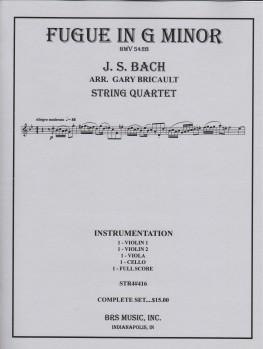Fugue in G Minor, BWV 542b