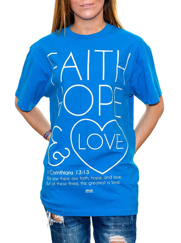 Faith, Hope And Love Women's T-shirt