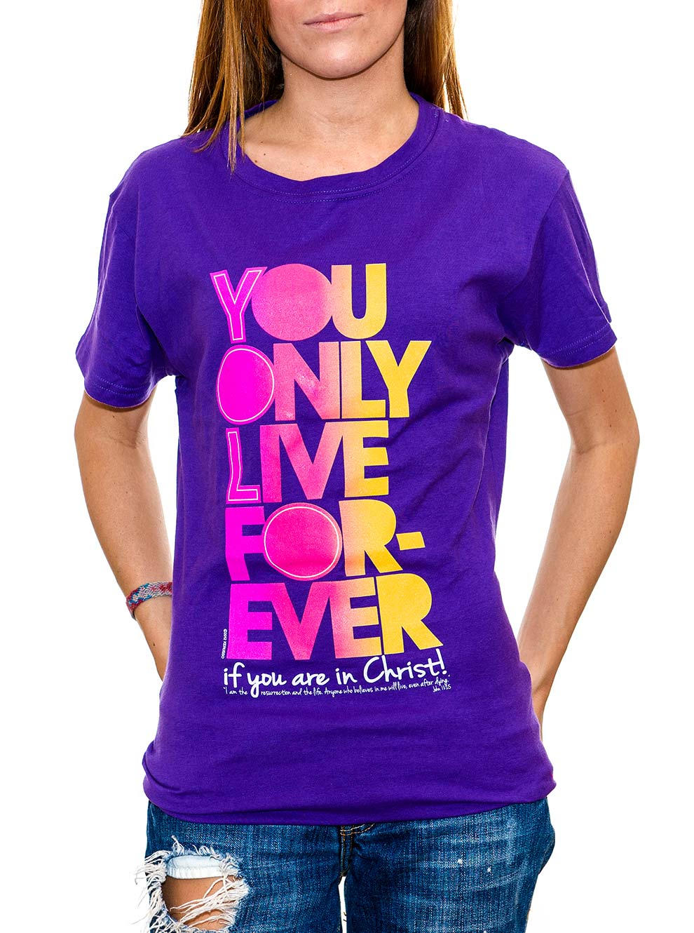 You Only Live Forever Youth T shirt