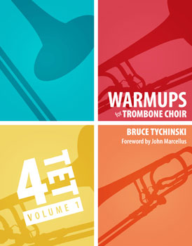Warm-Ups for Trombone Choir, Vol. 1: Quartets  Cover