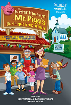 The Easter Pageant at Mr Pigg's Barbeque Emporium