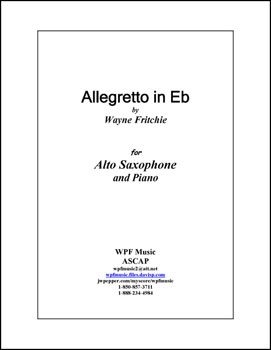 Allegretto in Eb