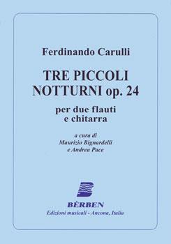 Tre Piccoli Notturni, Op. 24
