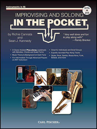 Improvising and Soloing In the Pocket Cover