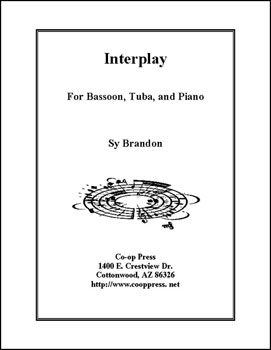 Interplay for Bassoon, Tuba and Piano