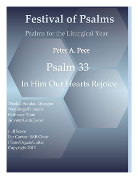 Psalm 33: In Him Our Hearts Rejoice