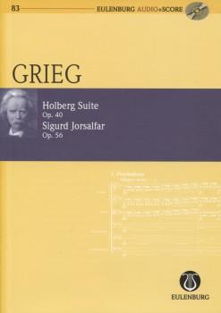 Holberg Suite, Op. 40 & Sigurd Jorsalfar, Op. 56