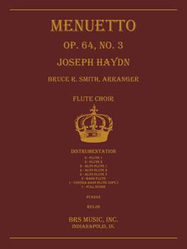 Menuetto, Op. 64, No. 3