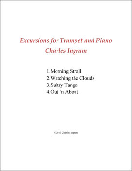 Excursions for Trumpet in C and Piano