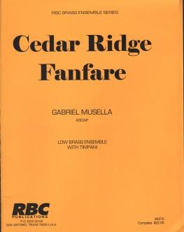 Cedar Ridge Fanfare
