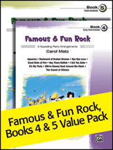 Famous and Fun Rock, Books 4 & 5