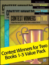 Contest Winners for Two, Books 1 - 3