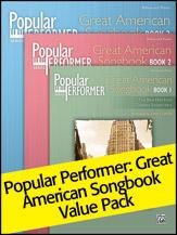 Pop Performer Great American Songbook, Books 1 - 3