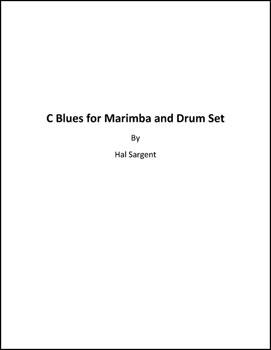C Blues for Marimba and Drum Set