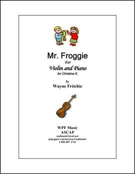 Mr. Froggie
