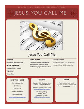 Jesus, You Call Me