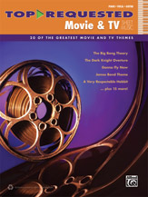 Top-Requested Movie and TV Sheet Music