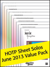Alfred's Sheet Solos Value Pack 2013