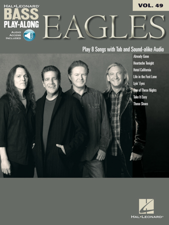 Bass Play Along #49 Eagles