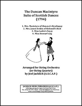 The Duncan Macintyre Suite of Scottish Dances