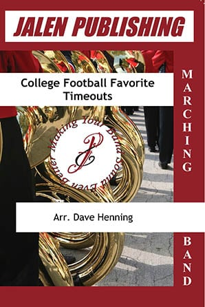 College Football Favorite Timeouts marching band sheet music cover