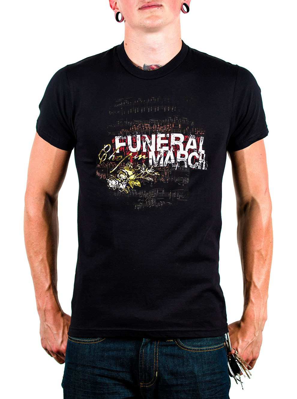 Chopin Funeral March T-shirt image
