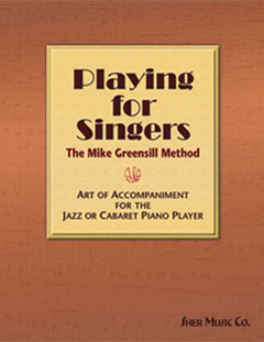 Playing for Singers Cover