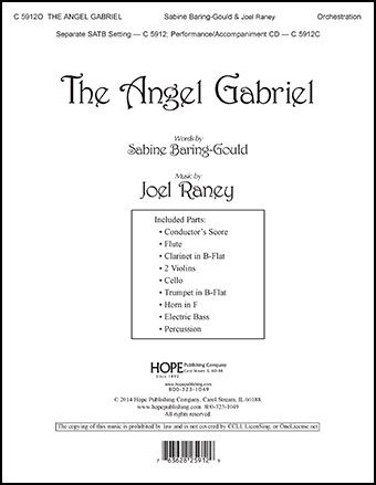 The Angel Gabriel Cover