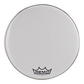 Remo Ambassador Smooth White Crimplock Bass Drum Heads