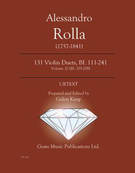 131 Violin Duets, BI. 111-241