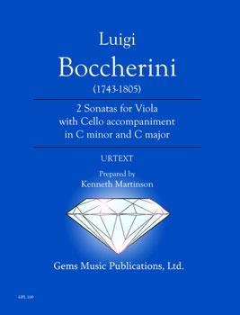 2 Sonatas for Viola with Cello Accompaniment in C minor & C Major