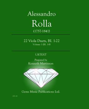22 Viola Duets, BI. 1-22