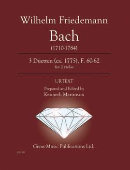 3 Duetten (ca. 1775), F. 60-62