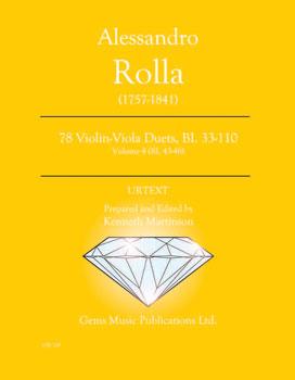 78 Violin-Viola Duets, BI. 33-110