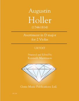 Avertiment in D major for 2 Violas