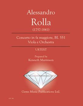 Concerto in fa maggiore BI. 551