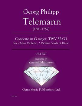 Concerto in G Major, TWV 52:G3