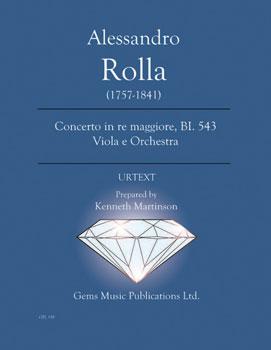 Concerto in re maggiore, BI. 543