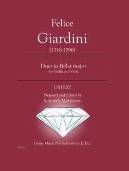 Duet in B-flat Major for Violin and Viola
