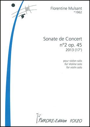 Sonate de Concert No. 2, Op. 45