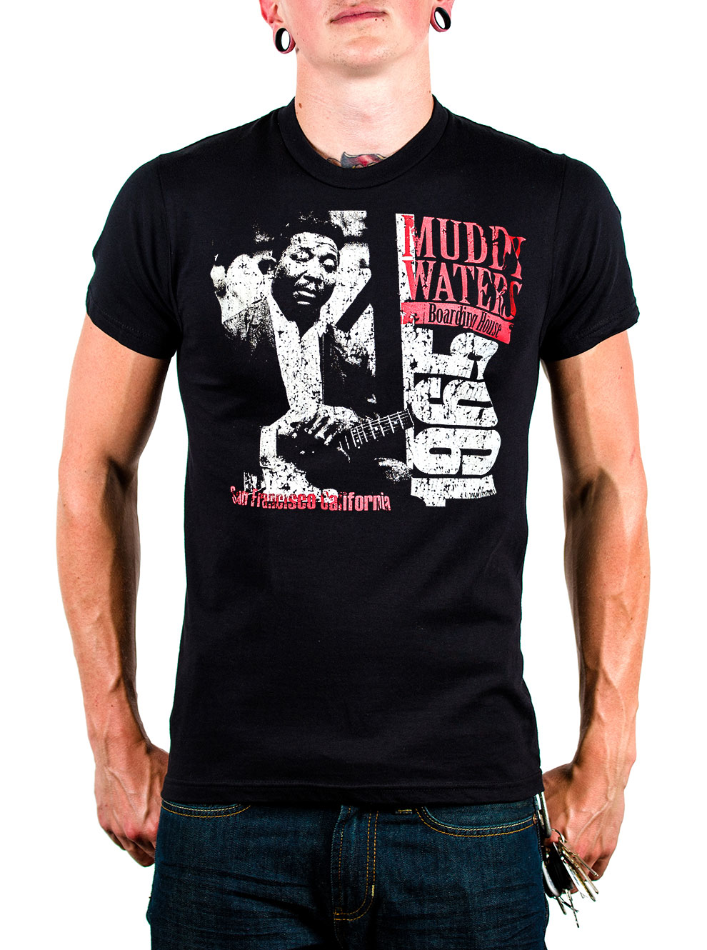 Muddy Waters Boarding House T-shirt image