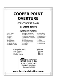 Cooper Point Overture