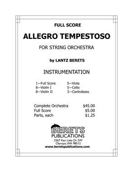 Allegro Tempestoso