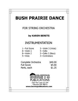 Bush Prairie Dance