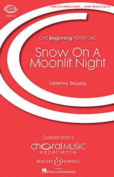Snow On a Moonlit Night