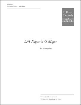 5/4 Fugue in G Major