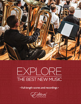 Editors' Choice Recorded Concert Band Series 2014