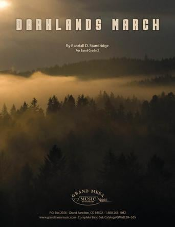 Darklands March choral sheet music cover