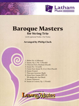 Baroque Masters for String Trio