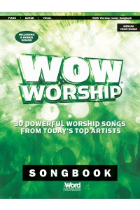 WOW Worship Green Songbook